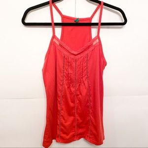 United Colors of Benetton Red Tank Top